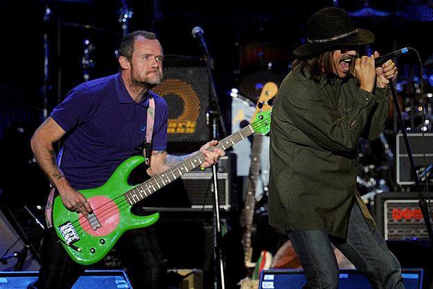 Flea and Anthony Kiedis