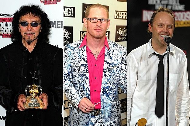 Tony Iommi / Corey Taylor / Lars Ulrich