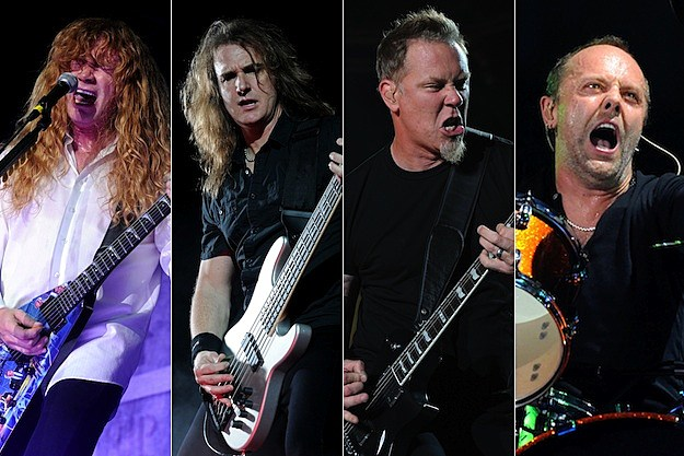 Dave Mustaine / David Ellefson / James Hetfield / Lars Ulrich