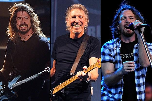 Dave Grohl / Roger Waters / Eddie Vedder