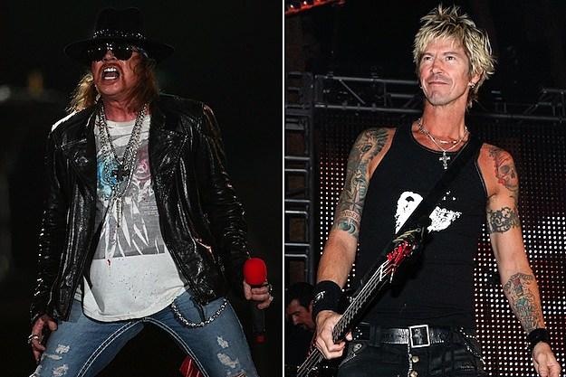 Axl Rose / Duff McKagan