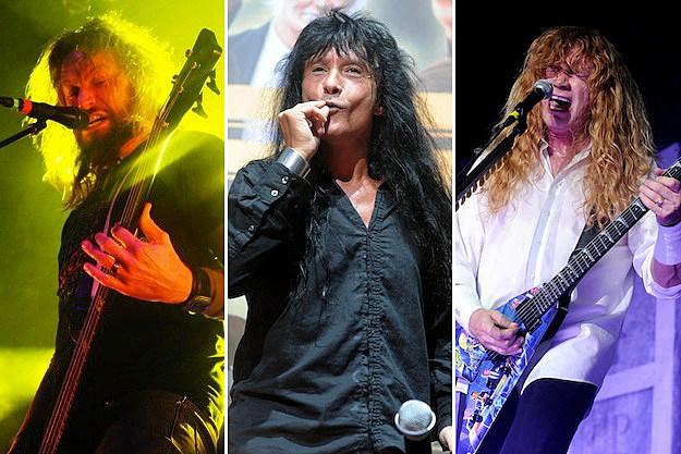 Troy Sanders / Joey Belladonna / Dave Mustaine