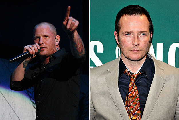 Corey Taylor and Scott Weiland