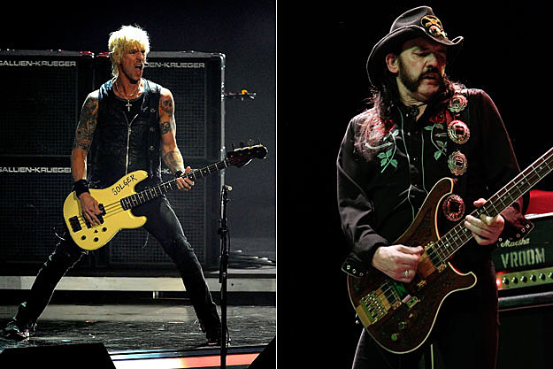 Duff McKagan and Lemmy