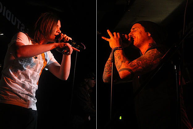 Ronnie Winter of The Red Jumpsuit Apparatus / James Hart of Burn Halo