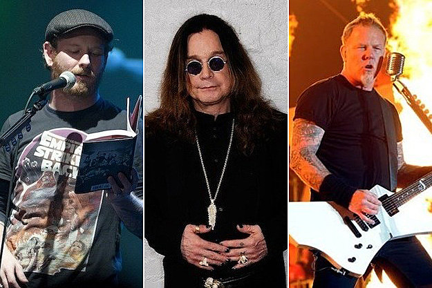 Corey Taylor / Ozzy Osbourne / James Hetfield