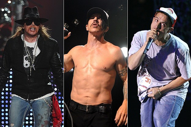 Axl Rose / Anthony Kiedis / Adrock