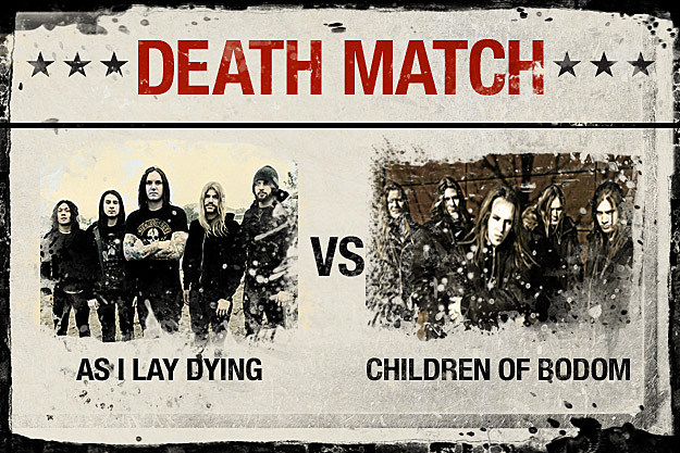 As I Lay Dying vs. Children of Bodom