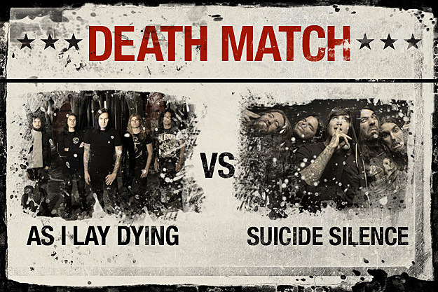 As I Lay Dying vs. Suicide Silence