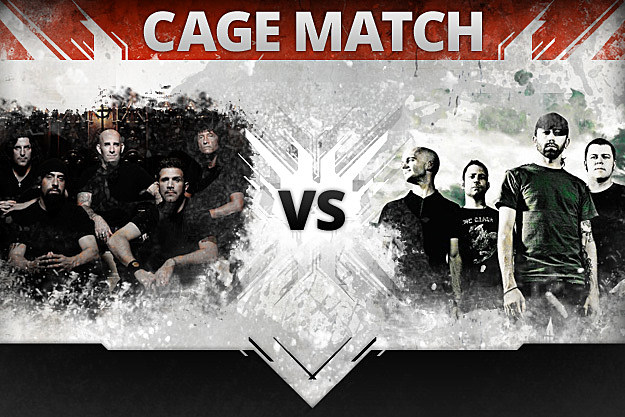 Anthrax vs. Rise Against