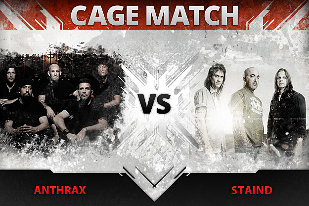 Cage Match Anthrax vs Staind