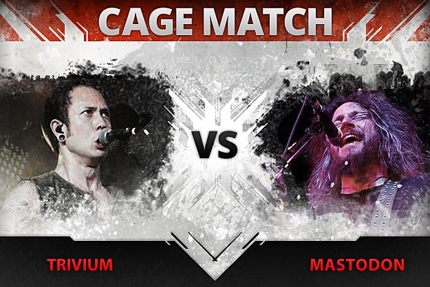 Cage Match Trivium vs Mastodon