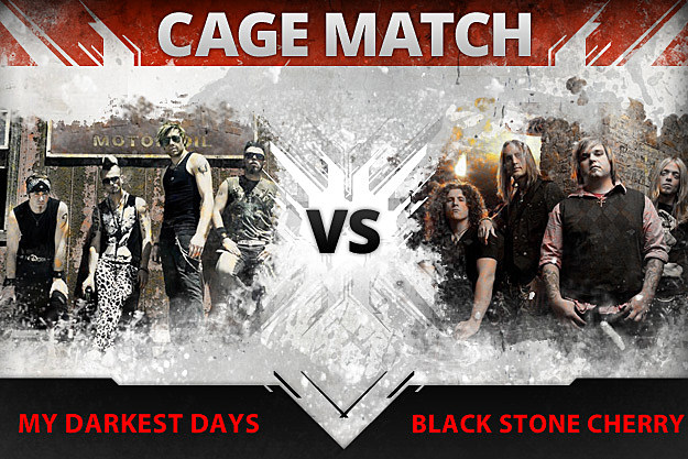 My Darkest Days vs Black Stone Cherry