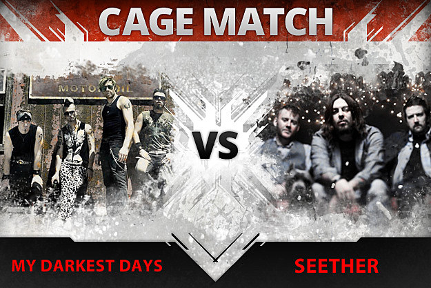 My Darkest Days vs Seether