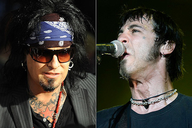 Nikki Sixx and Sully Erna