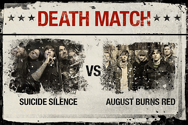 Suicide Silence vs. August Burns Red