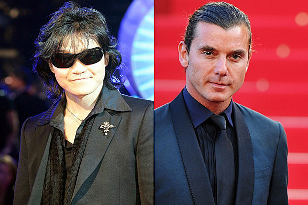 Toshi of X Japan / Gavin Rossdale of Bush