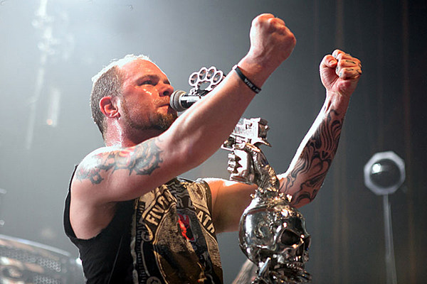five finger death punch to launch suicide prevention campaign with coming down video. Black Bedroom Furniture Sets. Home Design Ideas