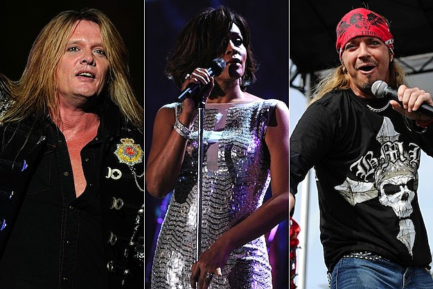 Sebastian Bach / Whitney Houston / Bret Michaels
