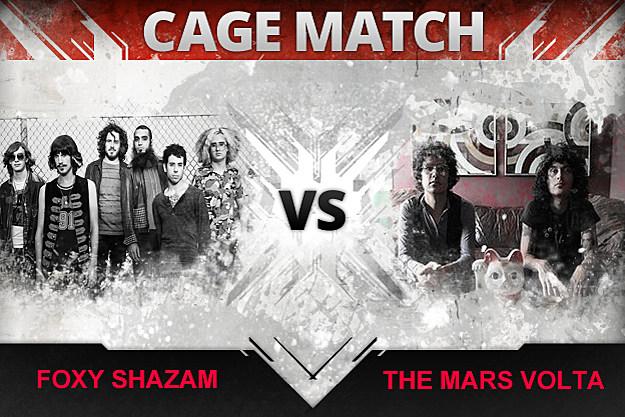 Cage Match Foxy Shazam vs Mars Volta