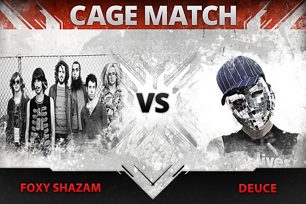 Foxy Shazam vs Deuce Cage Match