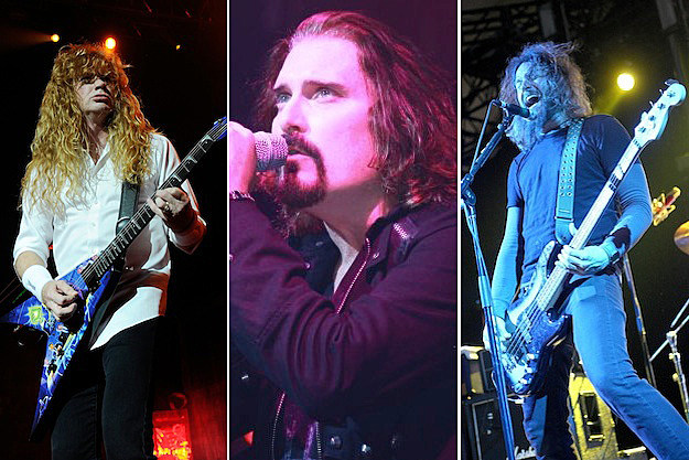 Megadeth / Dream Theater / Mastodon