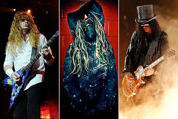 Megadeth Rob Zombie Slash