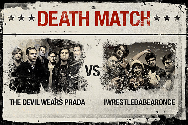 The Devil Wears Prada vs. Iwrestledabearonce