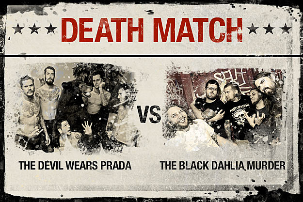 The Devil Wears Prada vs. The Black Dahlia Murder