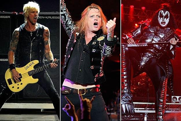 Duff McKagan / Sebastian Bach / Gene Simmons