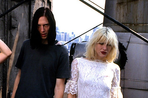 Eric Erlandson and Courtney Love