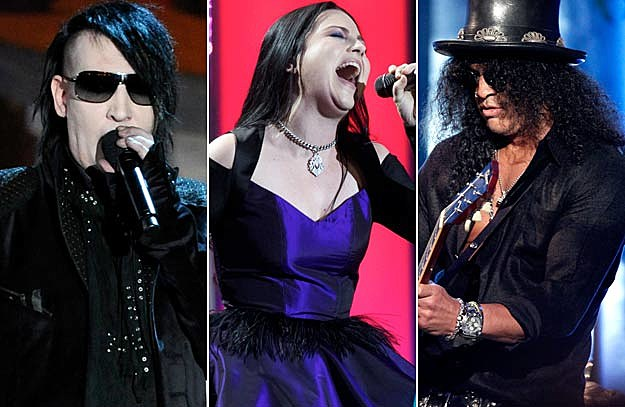 Marilyn Manson / Amy Lee / Slash