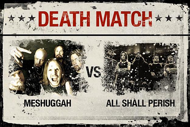 Meshuggah vs. All Shall Perish