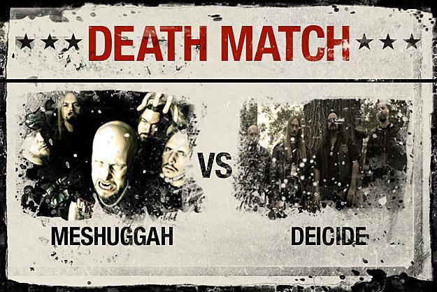 Meshuggah vs. Deicide