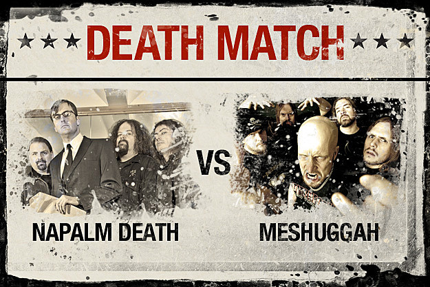 Napalm Death vs. Meshuggah
