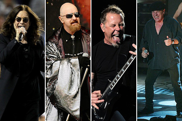 Ozzy / Halford / Hetfield / Johnson