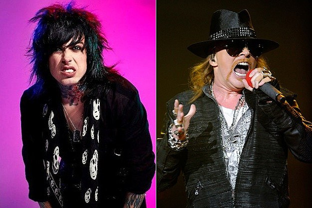 Ronnie Radke / Axl Rose