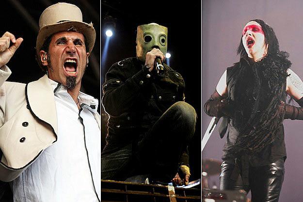 Serj Tankian - Corey Taylor - Marilyn Manson