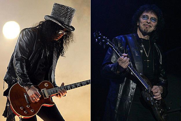 Slash / Tony Iommi