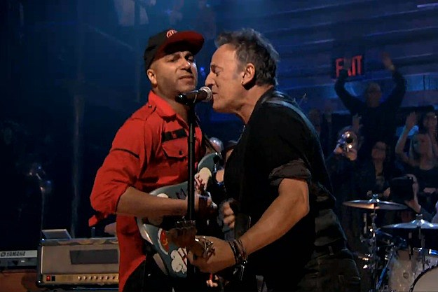 Tom Morello and Bruce Springsteen