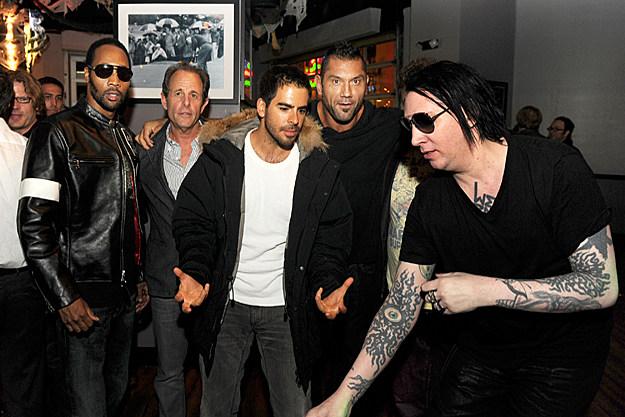 Marilyn Manson Tattos: It's Marilyn Manson's Tattoo!