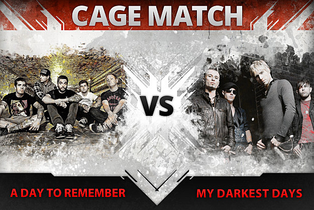 A Day to Remember vs. My Darkest Days