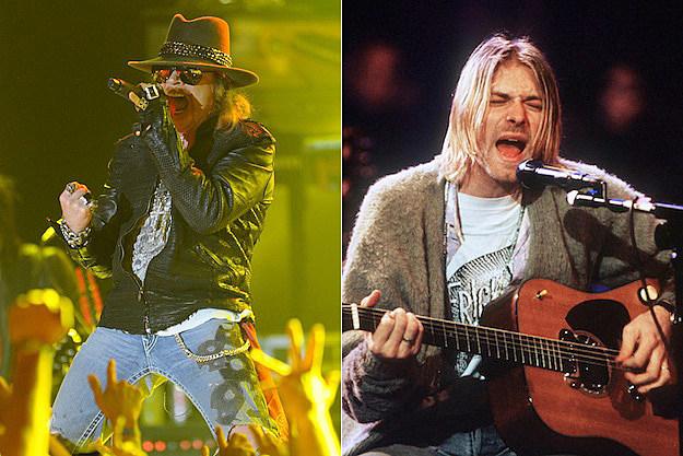 Axl Rose / Kurt Cobain