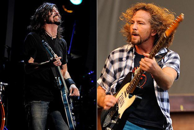 Bigger Headliner  Foo Fighters or Pearl Jam      Readers PollEddie Vedder Dave Grohl