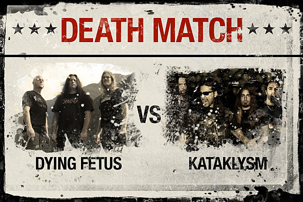 Dying Fetus vs. Kataklysm