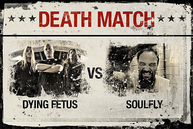Dying Fetus vs. Soulfly