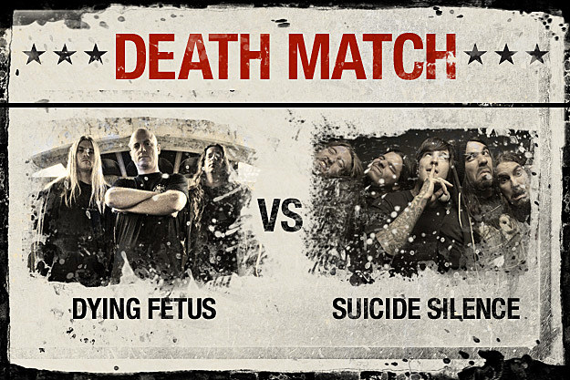 Dying Fetus vs. Suicide Silence