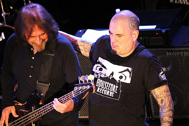 Geezer Butler and Phil Anselmo