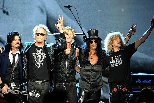 Guns N' Roses at Rock Hall
