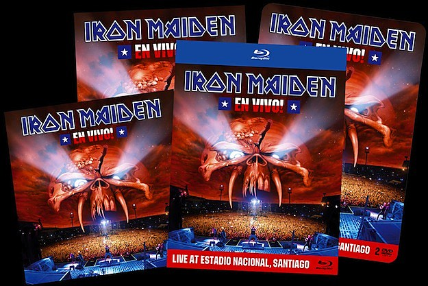 Iron Maiden 'En Vivo!' Prize Package